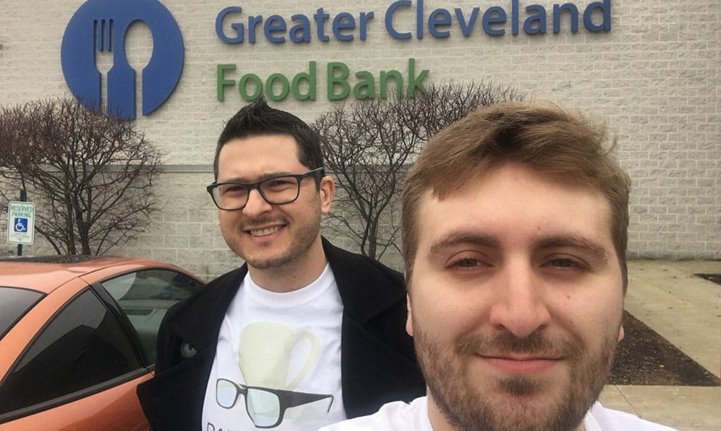DRM at Greater Cleveland Food Bank