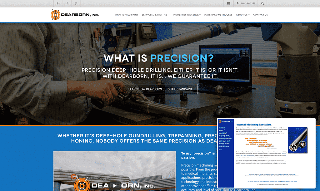 Dearborn, Inc. Website