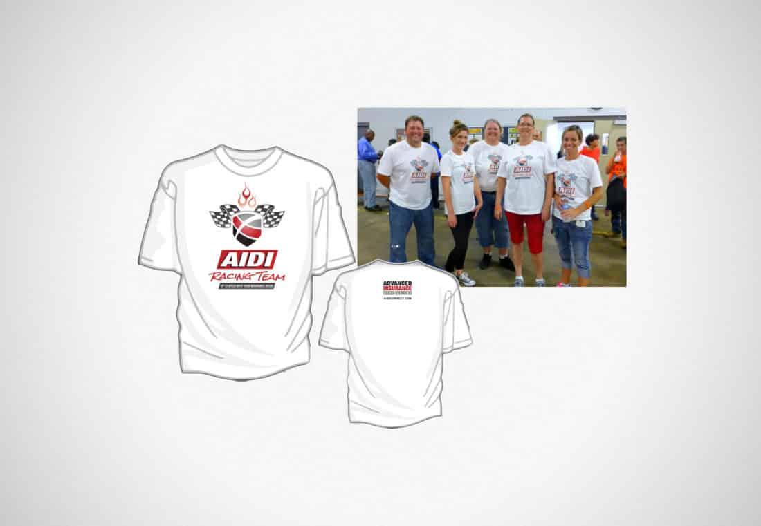 Advance Insurance Design Racing Shirt