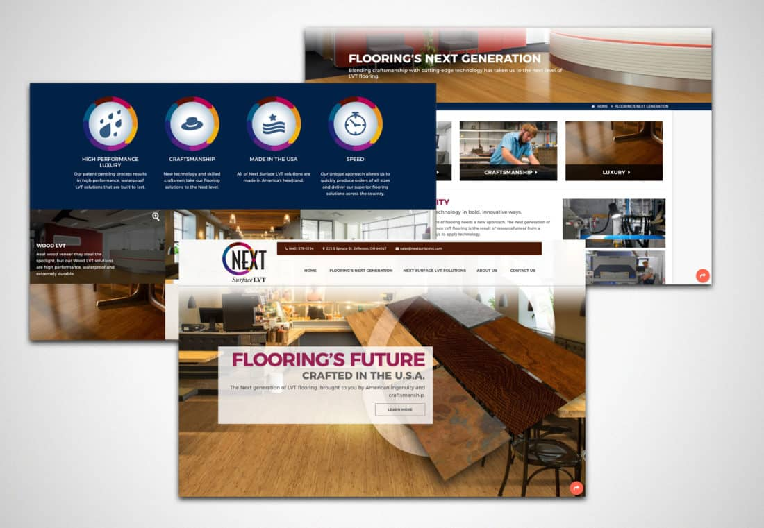 Next Surface LVT Website