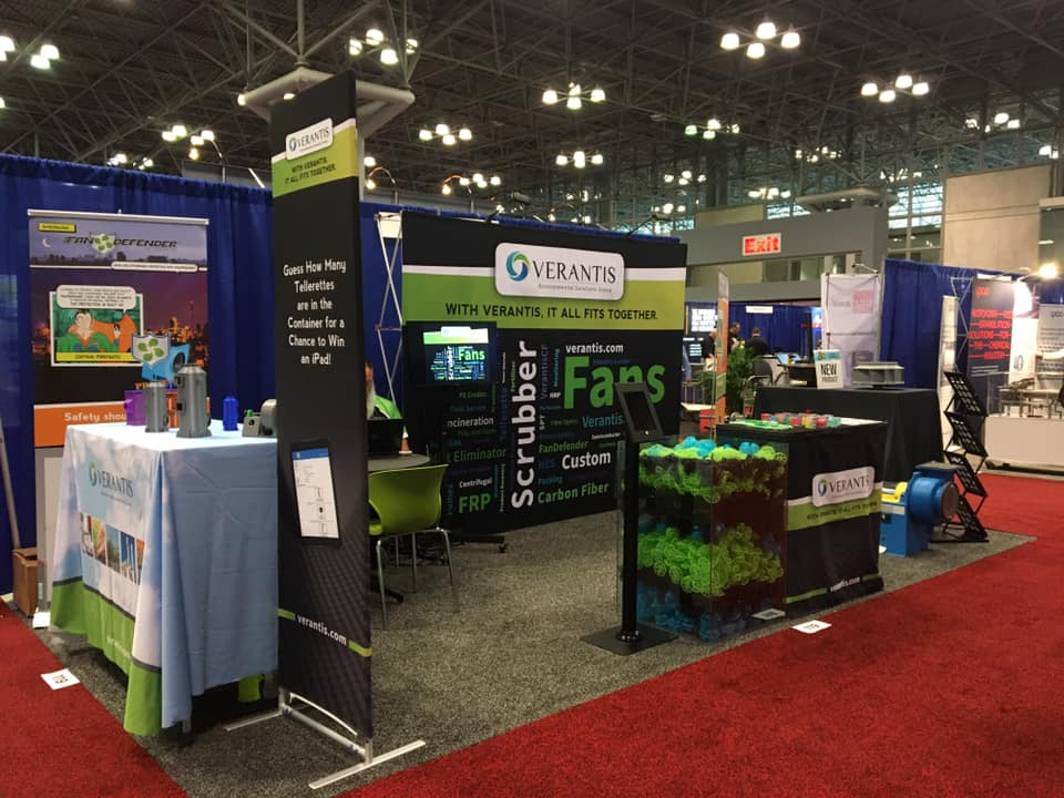 Verantis ChemShow Booth