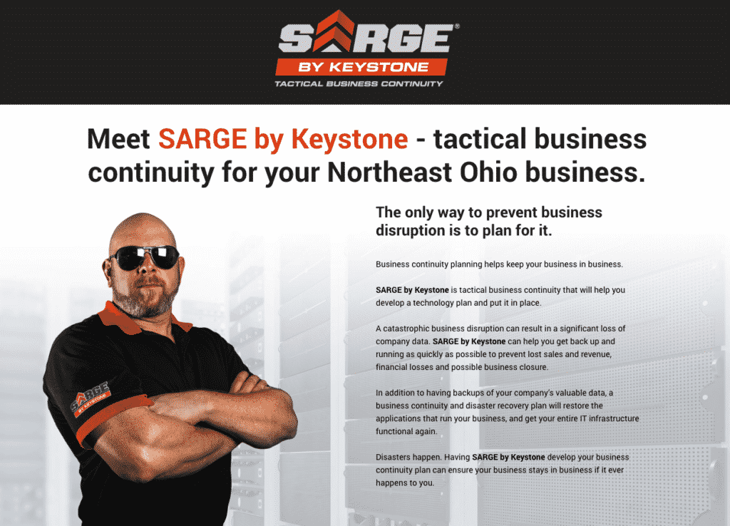 Keystone Technology Consultants - SARGE Campaign