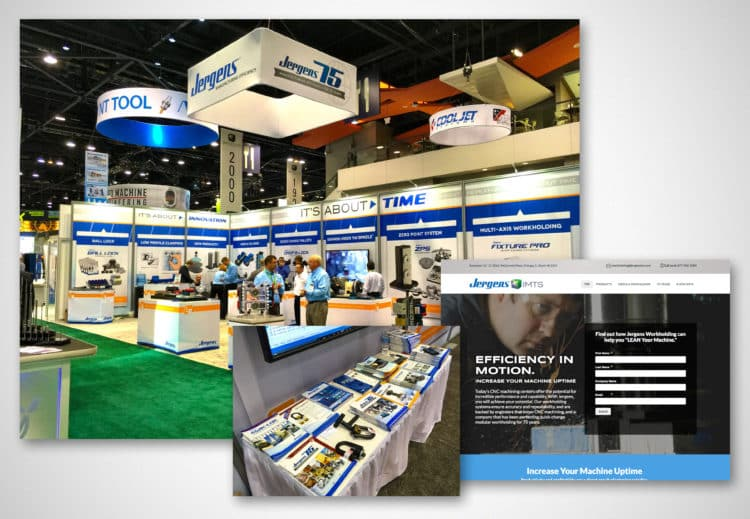 Jergens IMTS 2014 Booth & Collateral