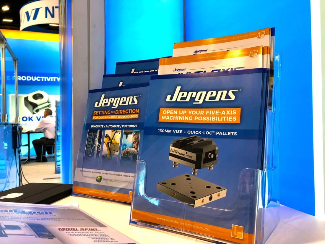 Jergens IMTS 2018 Booth Collateral