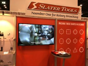 Slater Tools IMTS 2018 Booth Design and Video