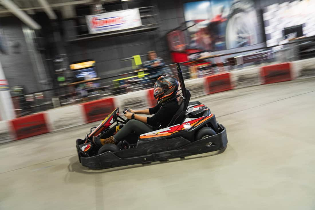 High Voltage Karting