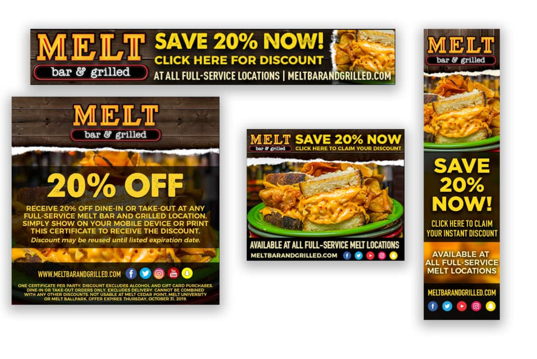Melt 20% Off Promotion